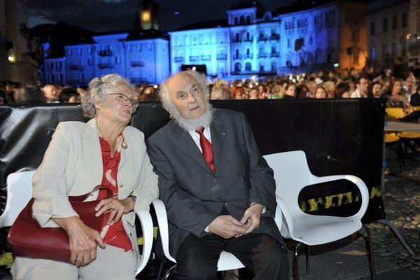 Pierre Blondeau en 2009 au Festival International de Cinéma de Locarno en Suisse.
