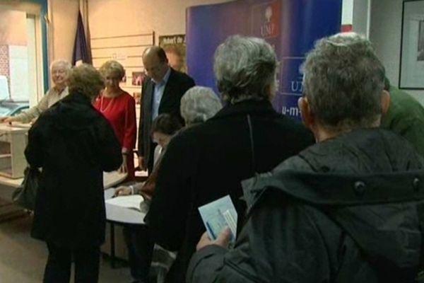 A Amiens les militants UMP votent