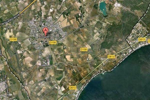 Loupian (Hérault) - Carte Google