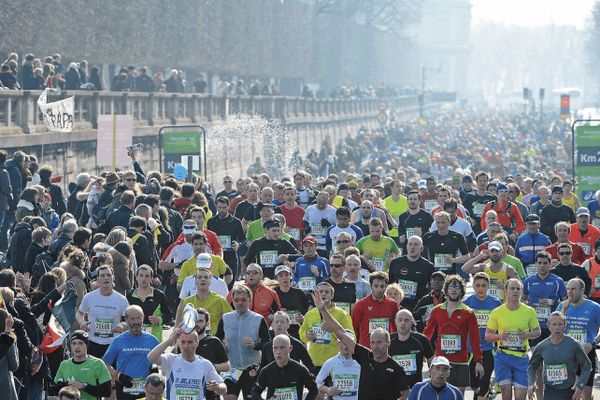 L'édition du Marathon de Paris 2013.