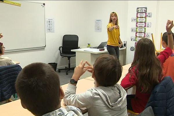 Une école spécialisée privée pour les enfants atteints de troubles des apprentissages a ouvert ses portes à Lyon en septembre 2018