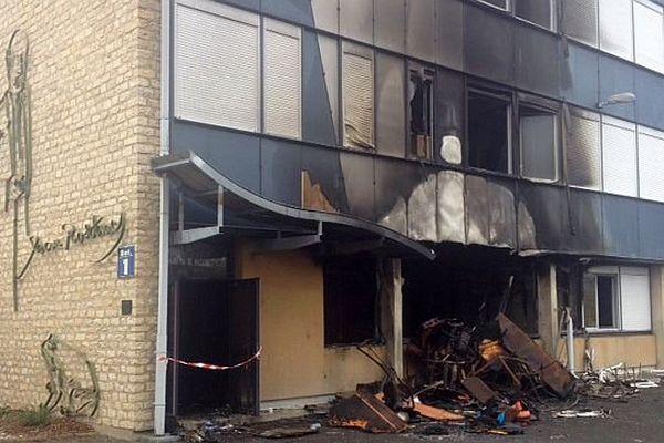 Les enquêteurs s'orientent vers la piste de l'incendie volontaire au lycée Jean-Rostand à Nevers