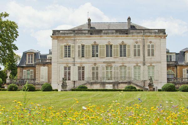 Le château de Montaigu, en Meurthe-et-Moselle