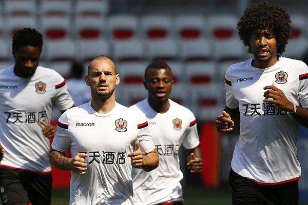 Dernier entraînement sur la pelouse de l'Allianz avec le match contre Naples