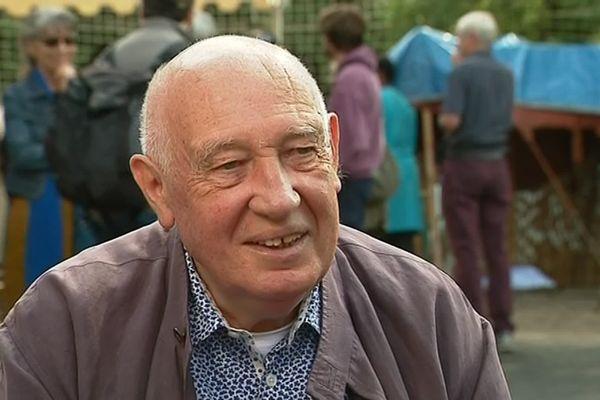 Raymond Depardon était l'invité d'honneur des 9èmes rencontres sahariennes, à Saint-Poncy (Cantal)