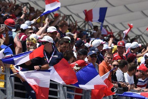 Des spectateurs français lors du Grand Prix de France ce weekend.