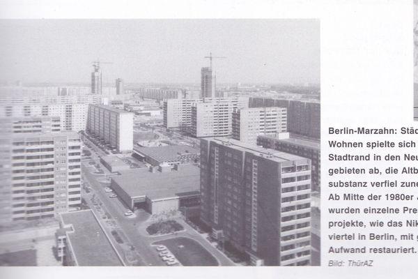 Image d'archives : des grands ensembles d'habitation est-allemands.