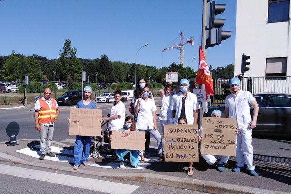 Les personnels soignants pourront suivre cette grève mais en continuant à travailler, du fait des assignations (Photo d'archives)
