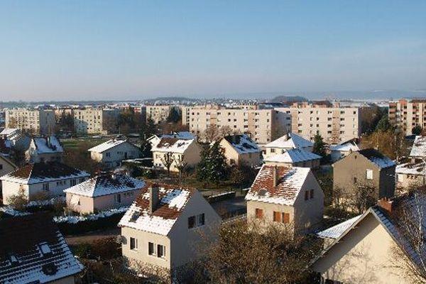 La ville de Chevigny-Saint-Sauveur dans l'agglomération dijonnaise