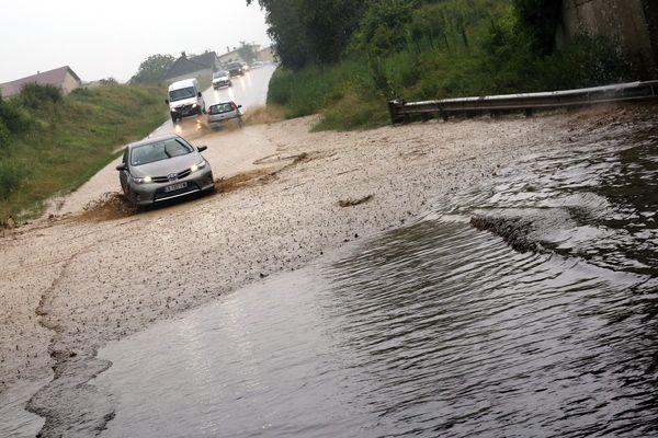 Les communes de La Roche-Blanche, Saint-Genès-Champanelle, et Saint-Saturnin bénéficient d'une reconnaissance de l'état de catastrophe naturelle pour les phénomènes d'inondations et coulée de boue survenus le 1er juillet 2019. Photo d'illustration.