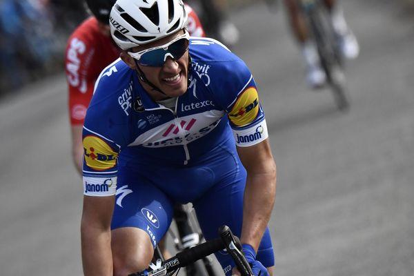Julian Alaphilippe prend la 9e place du classement général lors de la 7e et avant-dernière étape du Paris-Nice samedi 10 mars