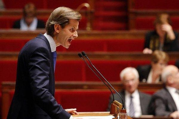 Guillaume Larrivé, député de la 1re circonscription de l'Yonne est l'un des porte-parole du parti LR (Les Républicains).