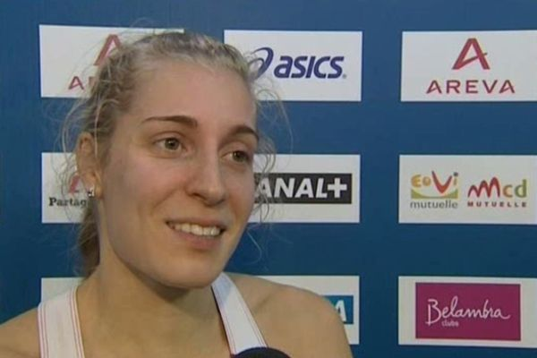 Marie Gayot, soissonnaise licenciée à Amiens, est la nouvelle championne de France du 400m en salle