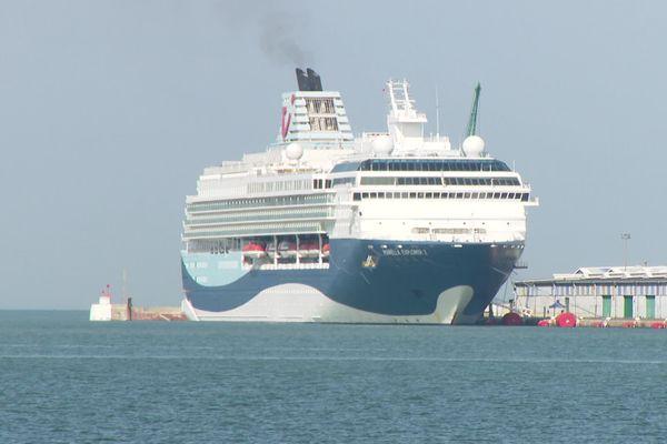 Le navire de croisière Marella Explorer 2 a fait escale sur les quais du Havre
