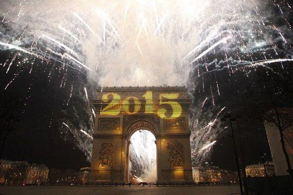 L'habituel feu d'artifice de l'Arc de triomphe n'aura pas lieu pour le Nouvel An 2016