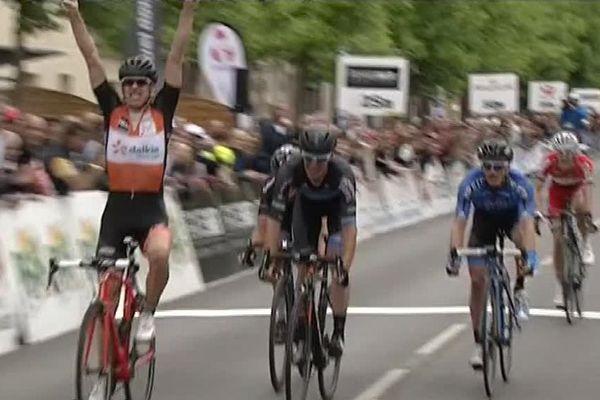Le Belge Dieter Bouvry (Roubaix Métropole européenne de Lille) a remporté ce dimanche la 66e édition du Paris-Chauny.