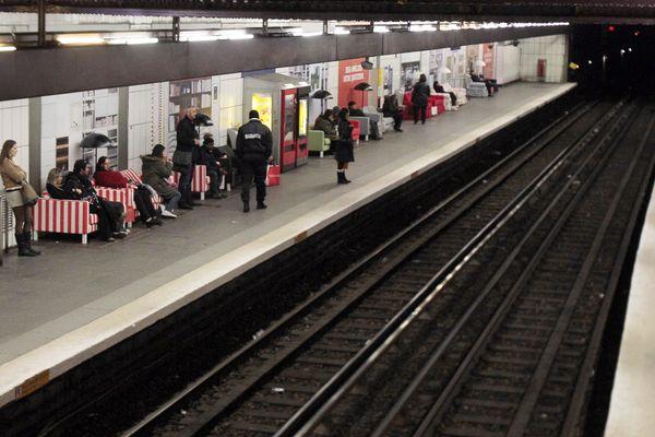 La station Concorde parmi les stations fermées ce mardi après-midi