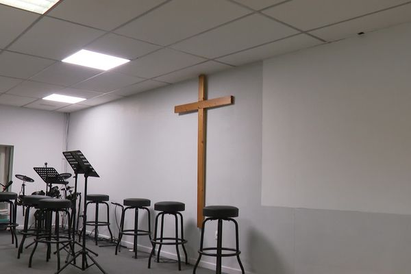 L'église évangélique baptiste à Vesoul