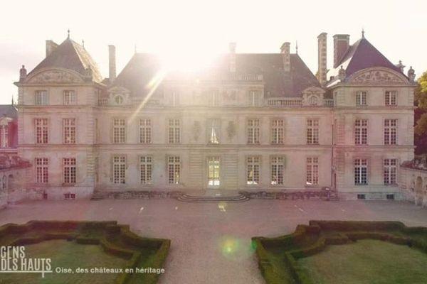 Le château de Raray