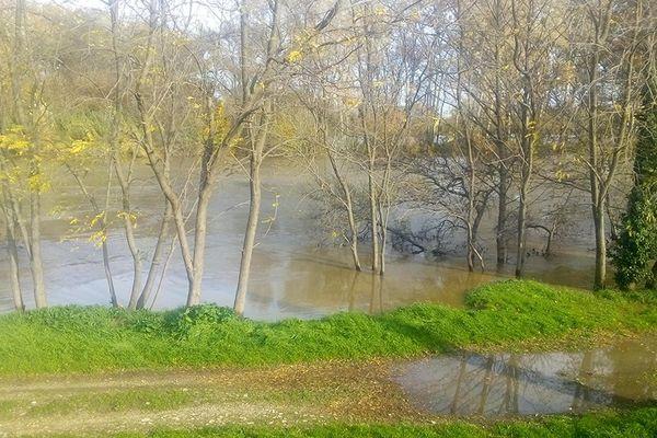 Le Rhône est en décrue. Le delta est toujours en vigilance orange niveau 3.