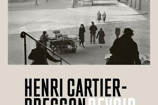 Affiche exposition Henri Cartier-Bresson – Revoir Paris