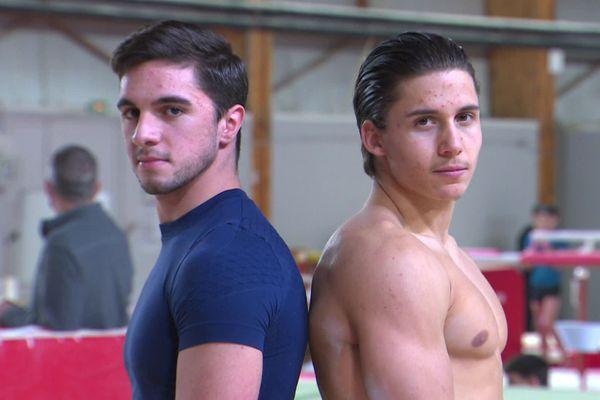 Kevin Carvalho et Bastien Eloy s'entraînent trente heures par semaine.