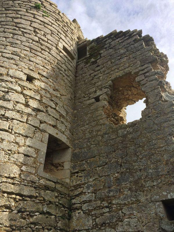 Tour du château de Commequiers