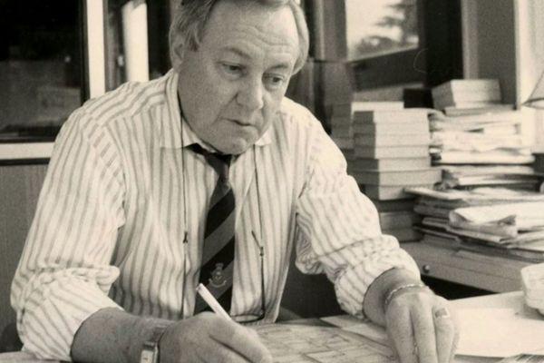 Claude Monnerie, journaliste passionné