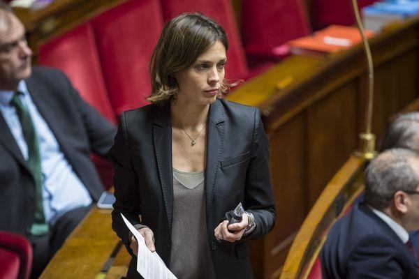 La députée LREM du Loiret Caroline Janvier à l'Assemblée nationale le 20 décembre 2018.