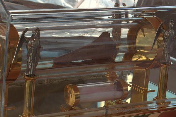 Cet ossement ferait partie des reliques de Marie-Madeleine.