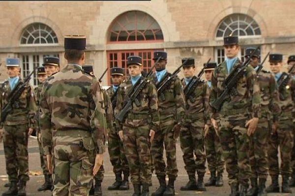 C'est à Besançon que sont regroupés les principaux effectifs militaires de la région. Ici la 7ème brigade blindée.