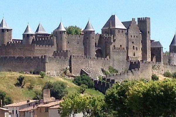 Carcassonne - la Cité médiévale - juin 2014.