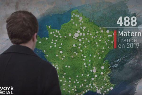 Il ne reste que 488 maternités en France pour accoucher.