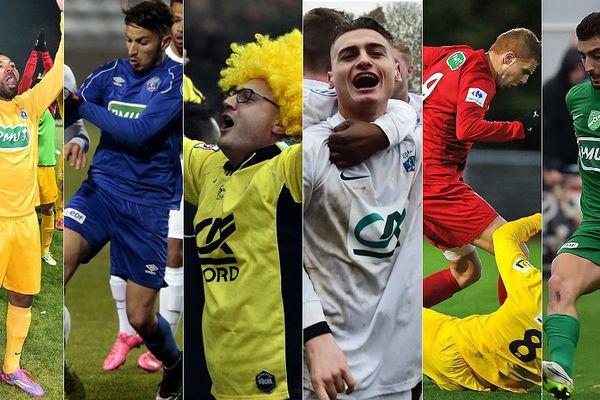 Maubeuge, Lens, Wasquehal, Villeneuve d'Ascq, Feignies-Aulnoye et Croix font partie des 8 clubs nordistes en lice.