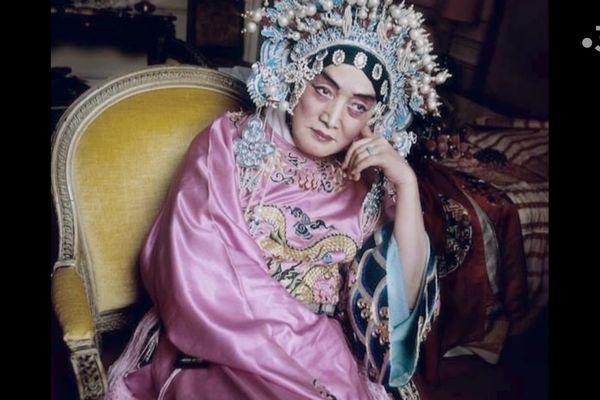 Shi Peipu, chanteur d'opéra spécialiste des rôles féminins.