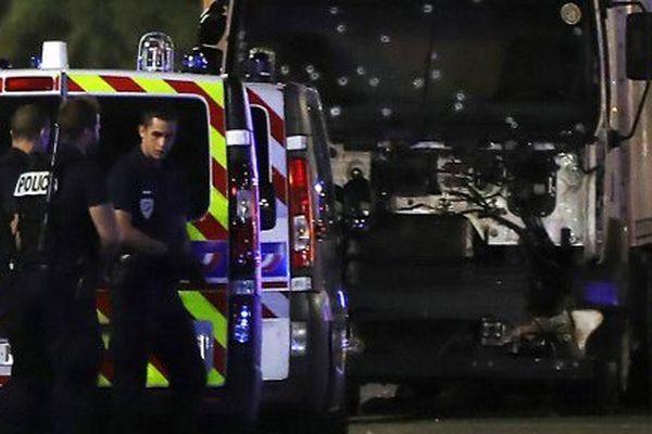 Le soir de l'attentat de Nice, le 14 juillet 2016.