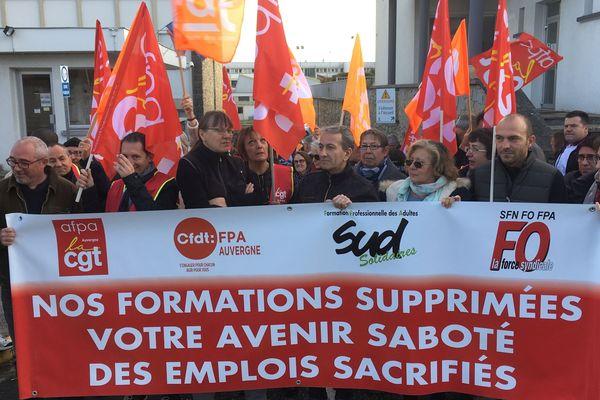 Les salariés auvergnats de l'AFPA inquiets pour leur avenir