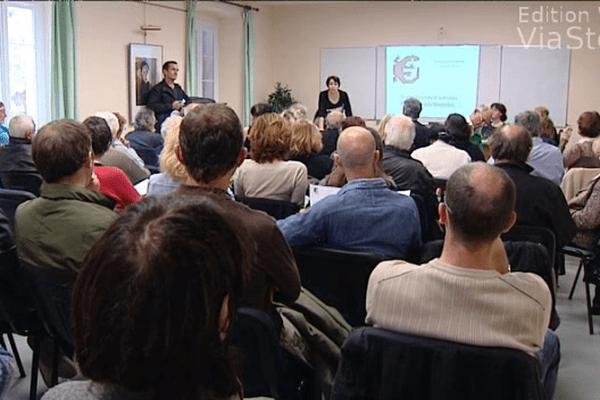 L'association U Levante, en avril dernier.