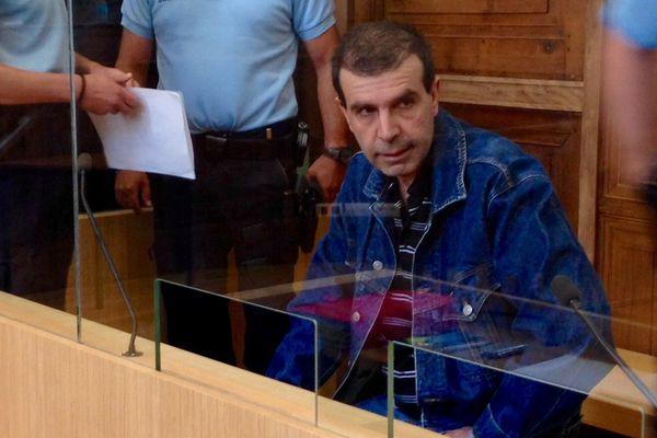 Jean-Pierre Mura au 5ème jour de son procès à Chalon-sur-Saône.