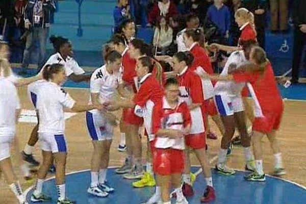 Montpellier : les Lattoises battent Madrid 58 à 53 en Euroligue - 20 novembre 2013.