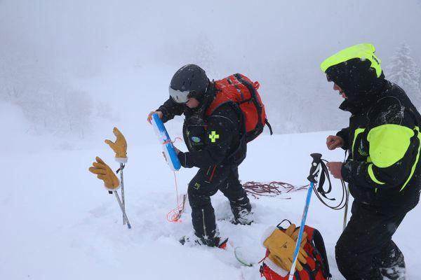 Dans les Vosges, un déclenchement préventif d'avalanches. Image d'illustration.
