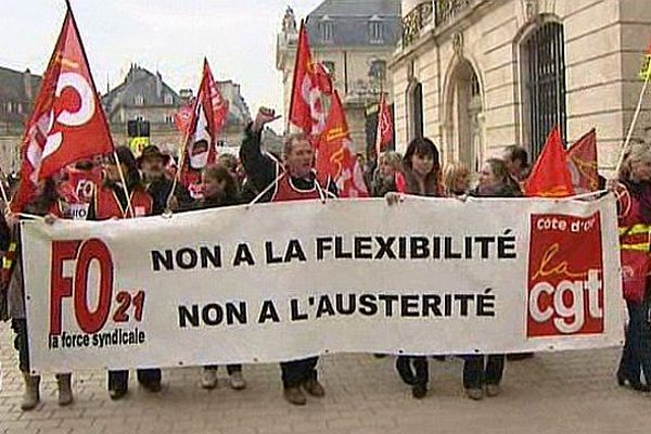 La manifestation du 5 mars 2013 à Dijon