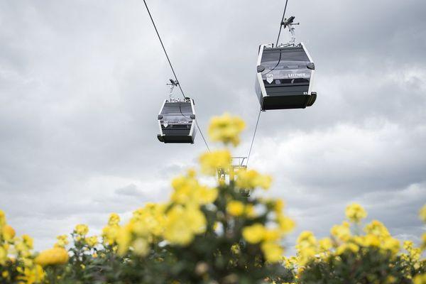 Le téléphérique de Thiers, dans le Puy-de-Dôme, figure parmi les 50 projets retenus par le ministère de l'écologie.