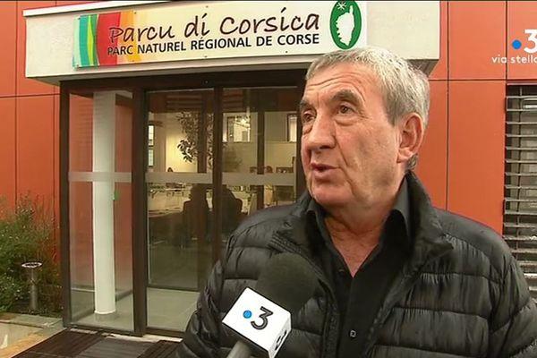 Antoine Versini, 1er vice-président du Parc Naturel Régional de Corse, Maire de Cristinacce