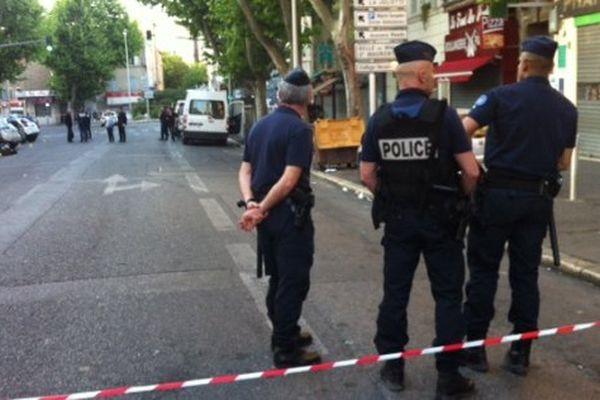 Les faits se sont déroulés rue Camille Pelletan dans le 3eme arrondissement de Marseille