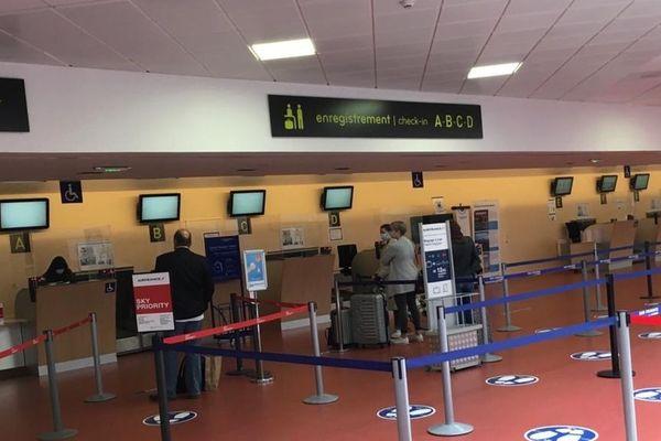Lundi 8 juin, quelques passagers étaient présents afin d'embarquer sur un vol entre Clermont-Ferrand et Paris.