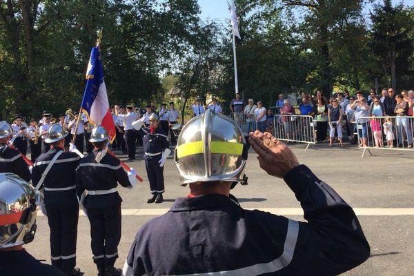 L'inauguration du centre de secours et incendie de Reugny (Indre-et-Loire) s'est déroulé samedi 1er septembre 2018