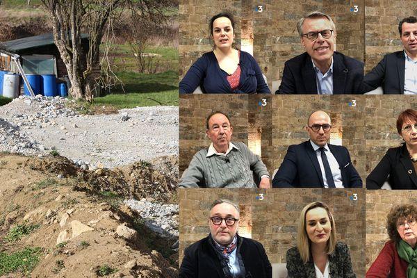 Pour ou contre le projet des Vaîtes à Besançon ? Les candidats aux municipales 2020 répondent.