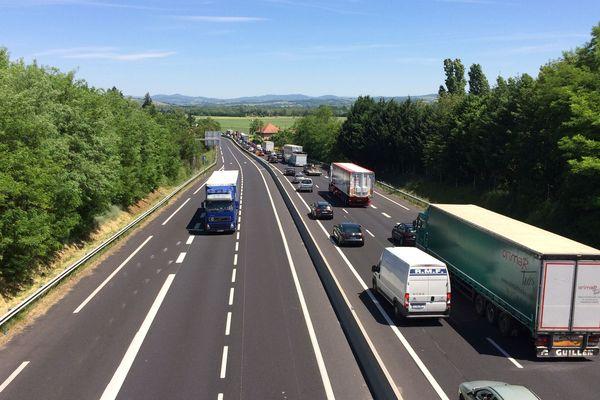 Dans le cadre de ses travaux d'élargissement de l'A75, le gestionnaire APRR va fermer des portions de l'A71 et de l'A75 du 18 au 22 février, de 20h à 6h30.