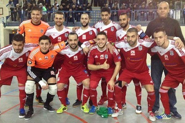 L'équipe de futsal du Petit Bard - 21 février 2015